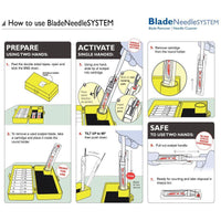 Qlicksmart Blade Needle System QBNS202S (Single Pack)