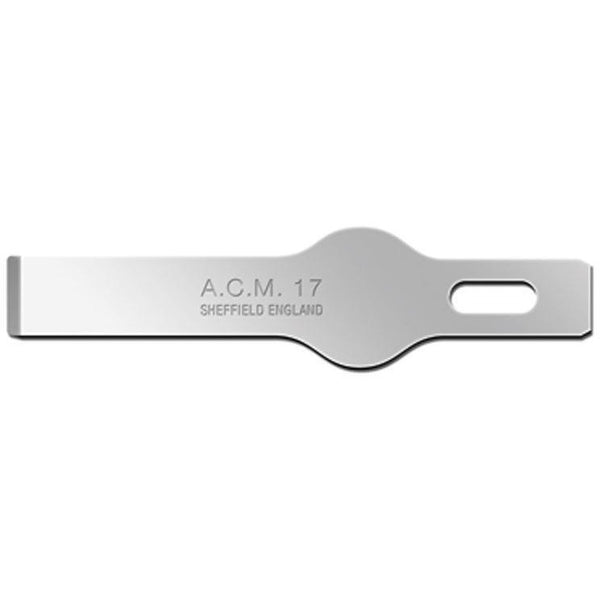 Swann Morton ACM (Arts, Craft & Modellers)  No 17 Blades 9307 (Pack of 10) to fit ACM No 1 Handle