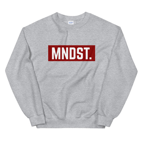 MNDST. Crimson Red Limited Sweatshirt