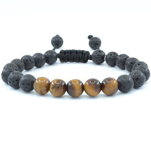 Tiger's Eye & Lava