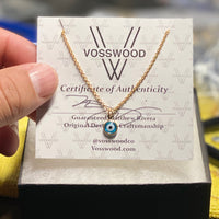evil eye necklace Vosswood
