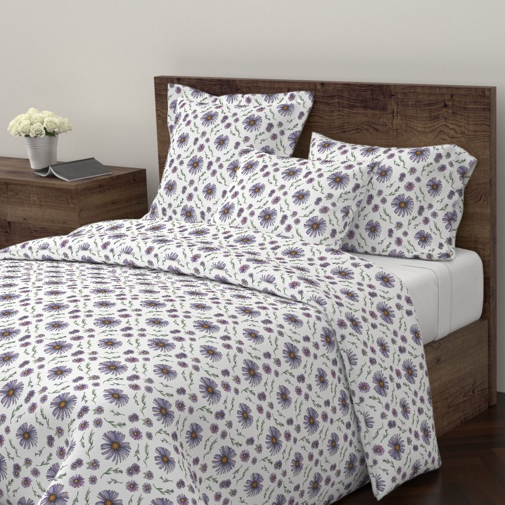 Flower Duvet Cover © Nicolet Laursen