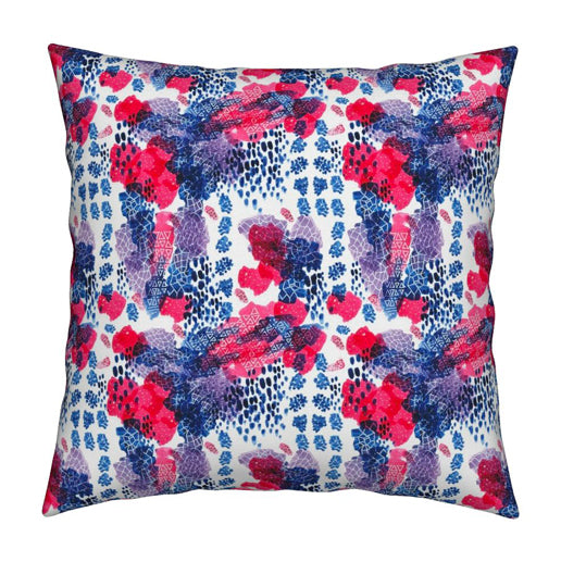 Raining Berries Pillow © Nicolet Laursen