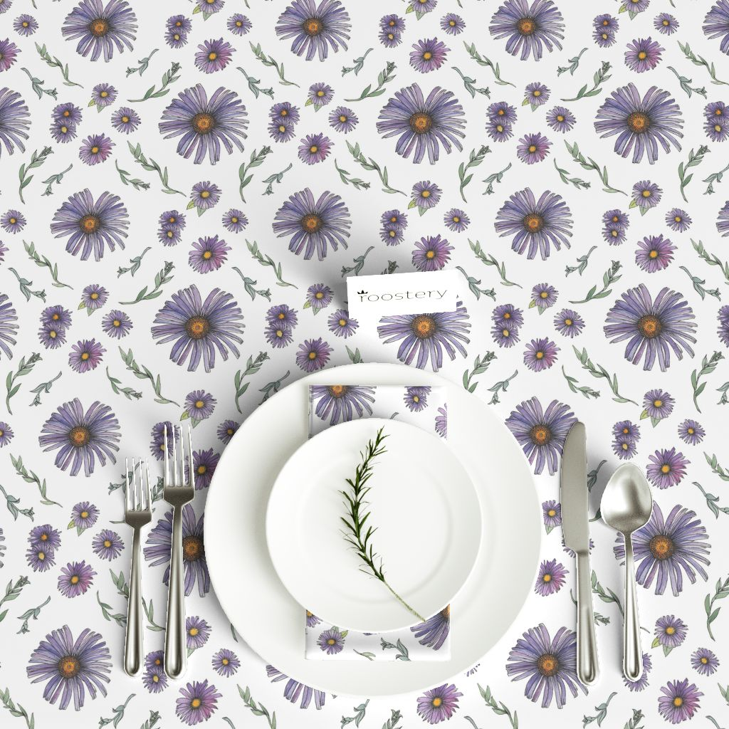 Flower Table Cloth © Nicolet Laursen