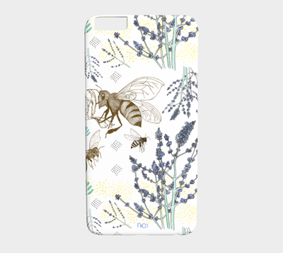 Russian Sage and Bumblebees — iPhone 6 Plus/6S Plus