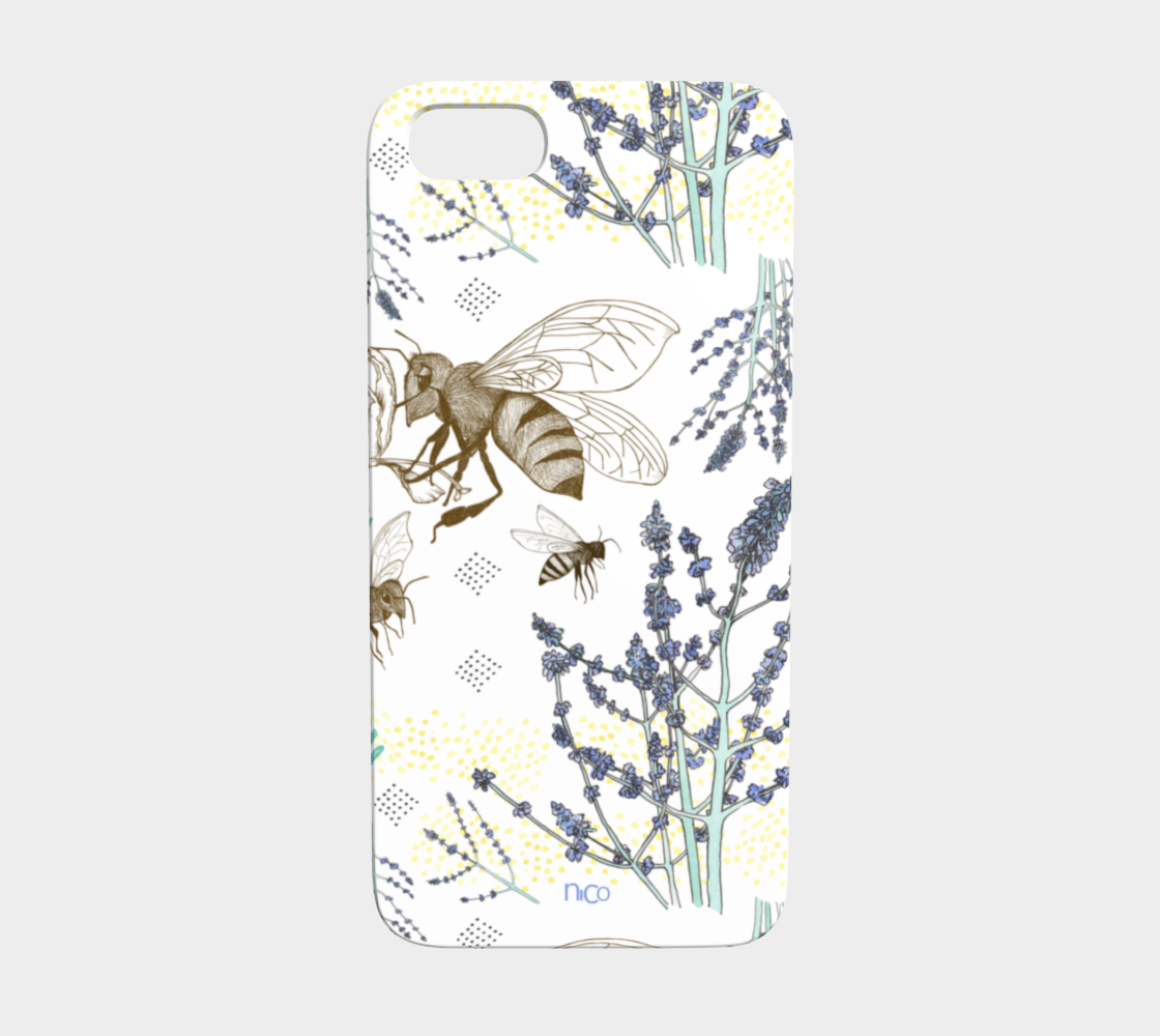 Russian Sage and Bumblebees — iPhone 5/ 5S