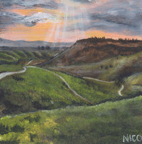 Boise Foothills Trail Paintings