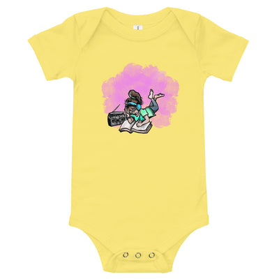 Music and Art Baby Short Sleeve One Piece