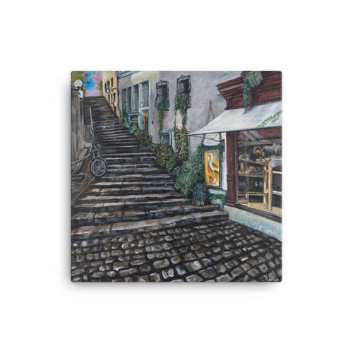 "Dreaming of Zurich 12""x12"" Canvas Print"