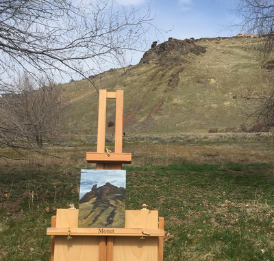 Castle Rock Reserve, Plein Air, Small
