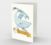 Big Love (gold and blue) Stationary Card (set of 3 with envelopes)