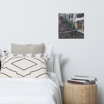 Dreaming of Zurich Art Print