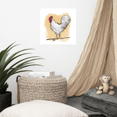 Wake Up Rooster! Art Print