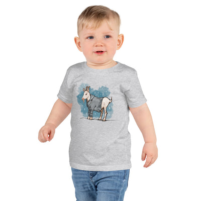 My Goat Wears a Coat! Short sleeve kids t-shirt