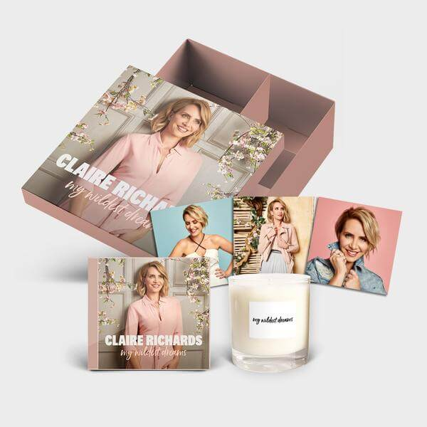 My Wildest Dreams - Box Set (Includes CD + Candle + Signed Postcard Set)