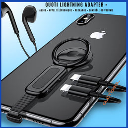 Adaptateur lightning iphone