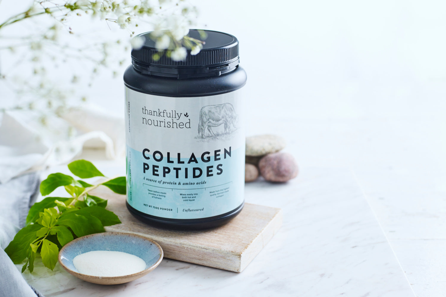 How Thankfully Nourished Collagen Peptides  is different from other collagens