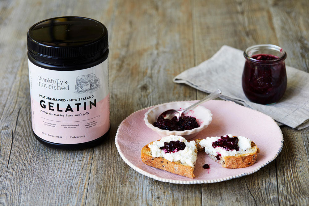 Berry & Chia Jam on Toast