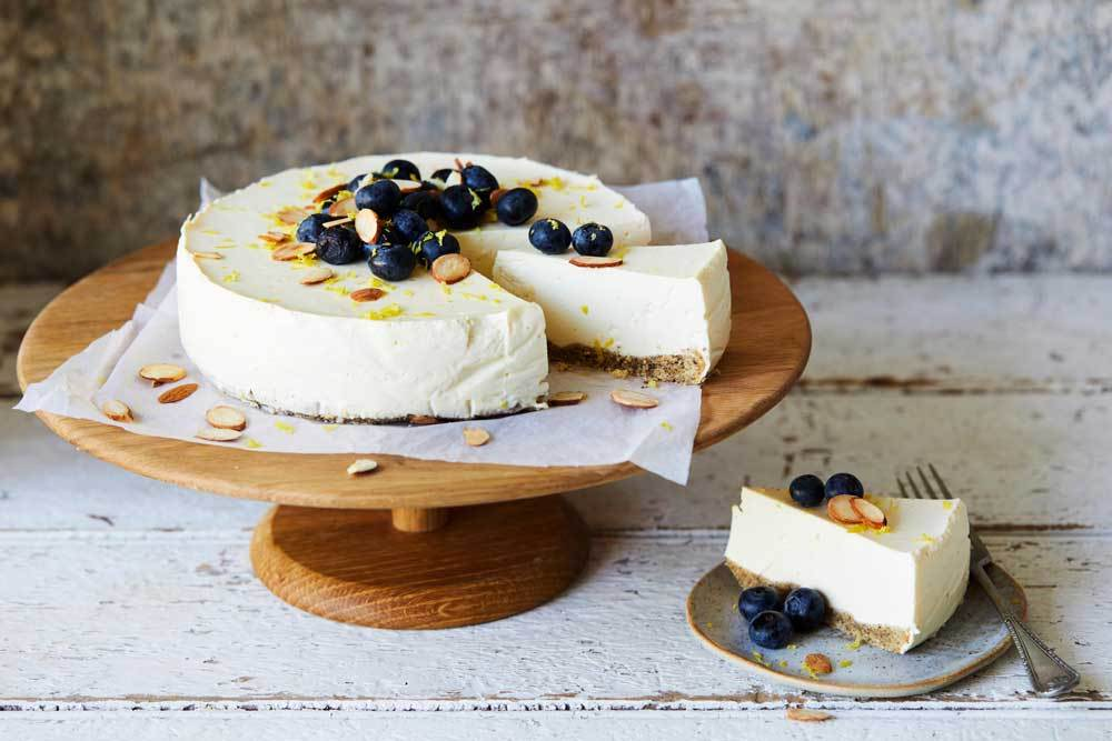 Citrus Yoghurt Cheesecake
