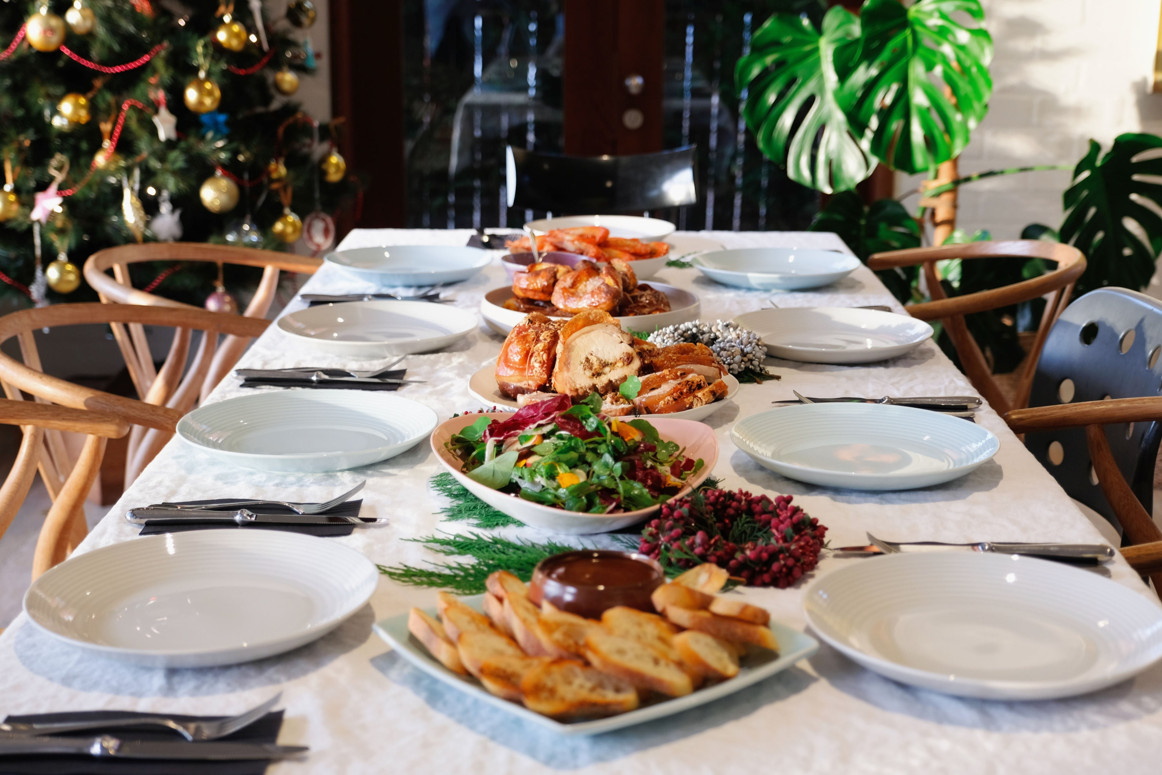 Enjoy this Thankfully Nourished Christmas Banquet