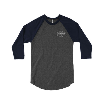 3/4 Hardware Unisex T-shirt - Platypus Board Co.