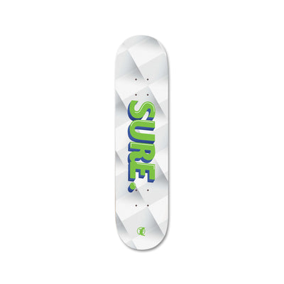 "SURE Geometry 8.0"" Skateboard - Platypus Board Co."