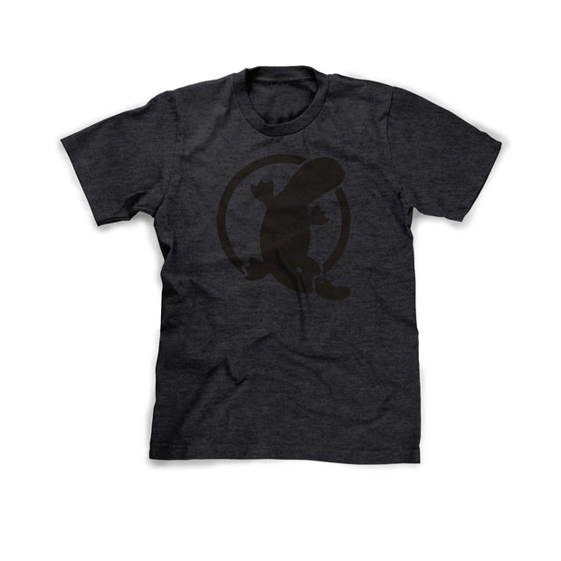 Team Platy Unisex Tee — Charcoal - Platypus Board Co.