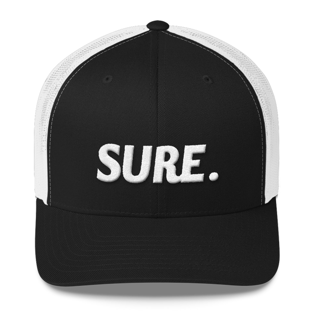 SURE Mesh Back Trucker Cap - Platypus Board Co.