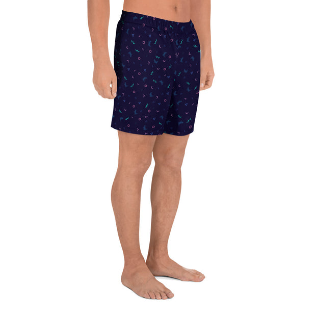 90's Memphis Men's Athletic/Swim Shorts - Platypus Board Co.