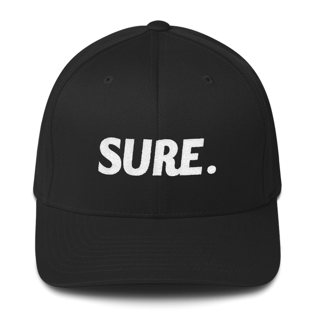 Sure Flexfit Structured Twill Cap - Platypus Board Co.