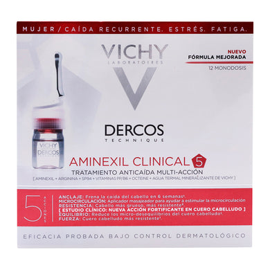 VIC-Aminexil Clinical 5 Ampolletas Mujer 12ds