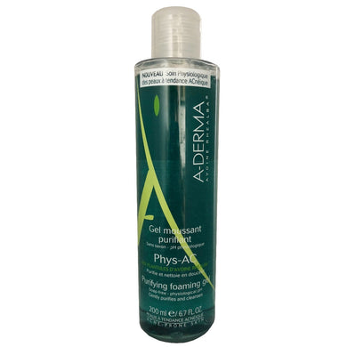 Aderma Phys-AC Gel Moussant 200 ml