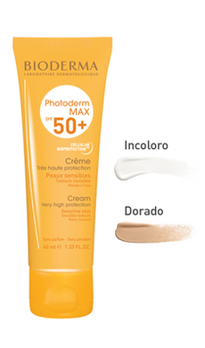 BIO-Photoderm Max Crema Incolor y Tinte FPS 50+ 40 ml