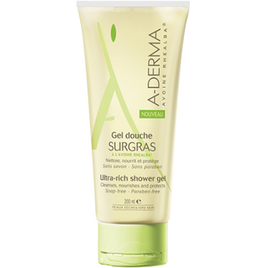 Aderma Gel Ducha Surgrass 200 ml