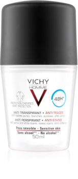 VIC-Homme Desodorante Roll-on Antitranspirante Anti-Manchas 48 h 50 ml