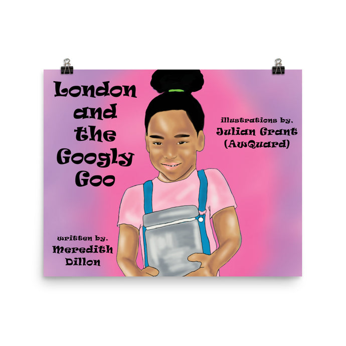 London and the Googly Goo Poster