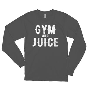 GYM AND JUICE Long sleeve t-shirt (MADE IN THE USA)