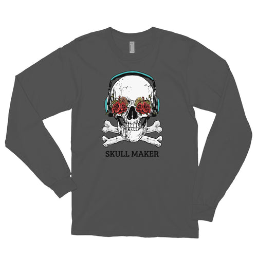 Skull Maker Long sleeve t-shirt (Made in the USA)