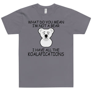 Save the Koala's t-shirt Made in the USA