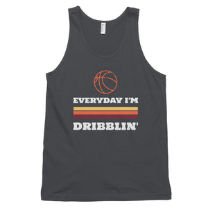 Everyday I'm Dribblin Classic tank top (Made in the USA)