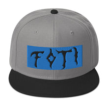 Load image into Gallery viewer, FOTI Snapback Hat (Fluffy on the Inside)