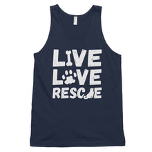 Load image into Gallery viewer, LIVE LOVE RESCUE Classic tank top (MADE IN THE USA)