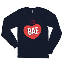 Load image into Gallery viewer, HER BAE Long sleeve t-shirt (MADE IN THE USA)