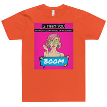 Load image into Gallery viewer, Color Wheel T-Shirt (MADE IN THE USA)