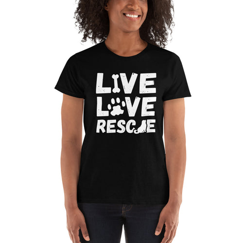 LIVE, LOVE, RESCUE Women's TSHIRT!