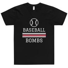 Load image into Gallery viewer, Baseball Bombs T-Shirt (Made in the USA)