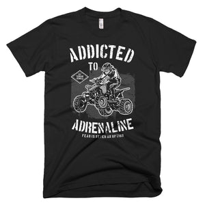 Addicted to Adrenaline T-Shirt Made in the USA