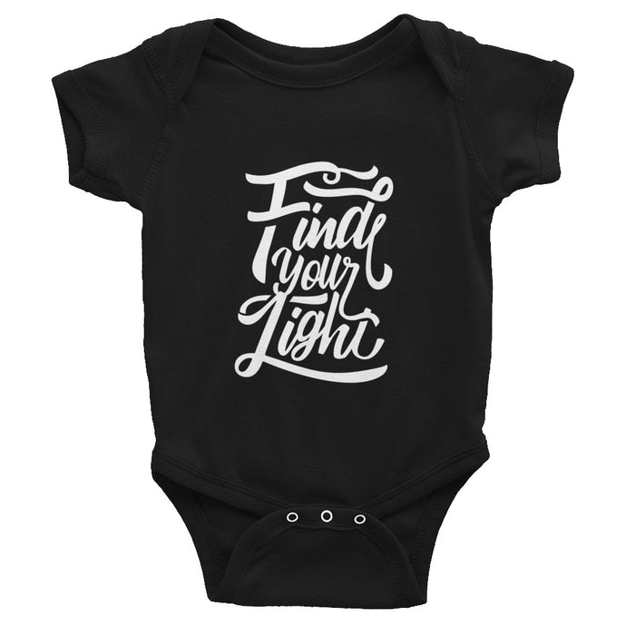 Find Your Light Infant Onesie