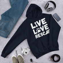 Load image into Gallery viewer, LIVE LOVE RESCUE Hoodie