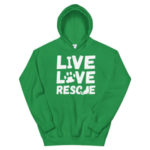 LIVE LOVE RESCUE Hoodie